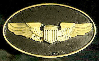 Air Force Pilot Wings Trailer Hitch Cover