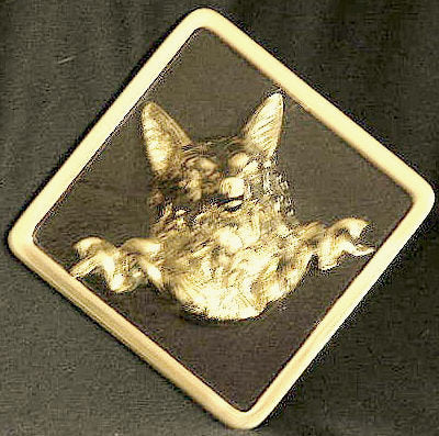 Fox Head Trailer Hitch Cover