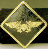 Navy Crew Wings Trailer Hitch Cover