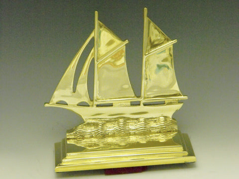 Sailboat Bookends - Large