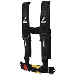 Dragonfire 520872 2  Sewn Black Youth Harness Restraint