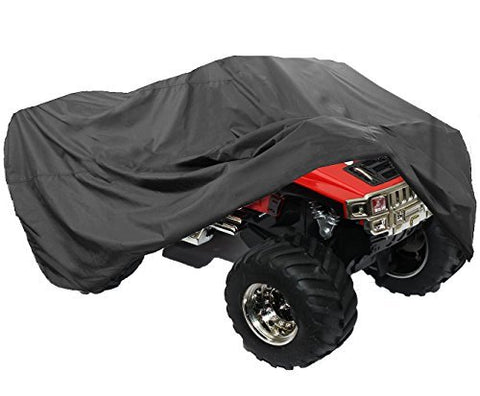 Lotfancy All Weather Atv Cover, Durable Universal Waterproof Wind-Proof Uv Protection (Xl 98X47X45 Inches)