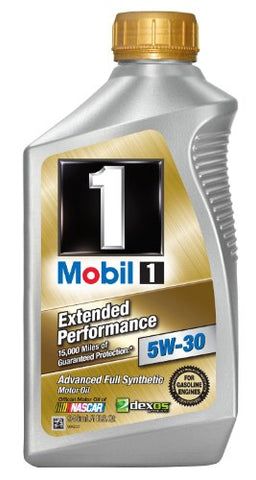 Mobil 1 44976 5W-30 Extended Performance Synthetic Motor Oil - 1 Quart