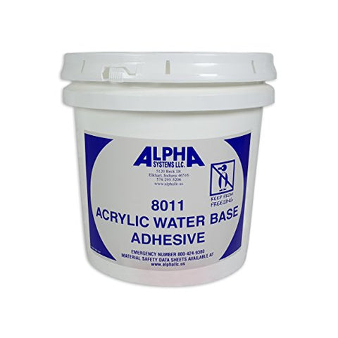 Rv Rubber Roof Adhesive 8011 Alpha/Dicor Gallon Water-Based Universal Rv Roof Glue