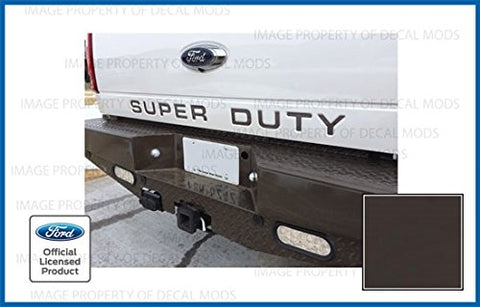 Ford Super Duty Letter Inserts (Thin) For Tailgate -Fcaribou (2008-2016) F250 F350 F450 Decals Stickers (Caribou)