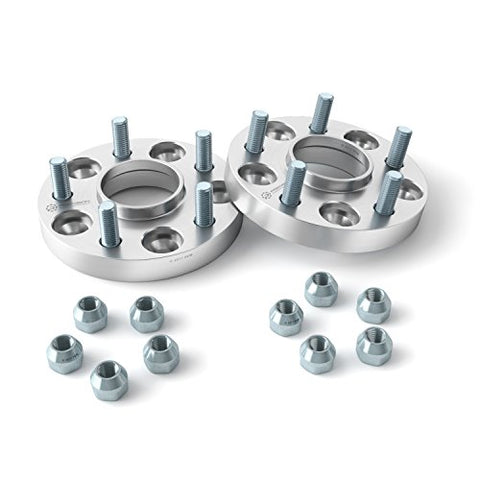 (2) 1  Hubcentric 5X4.75 Wheel Spacers (70.3Mm Bore &Amp; 7/16  Studs) For Many Older Buick Chevy Chevrolet Oldsmobile (5X120.65 5X120.7, 7/16 X20, 25Mm Adapters)