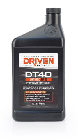 Joe Gibbs Driven Racing Oil 02407 Dt40 5W-40 Synthetic Oil
