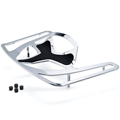 Krator Luggage Rack Chrome Cargo Travel Trunk Rack Mount For Honda Goldwing Gl1800 Models 2005-2006 Except F6B