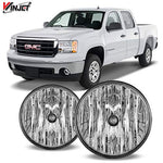 Winjet Wj30-0208-09 Oem Series For [2007-2013 1500] [2007-2014 Gmc Sierra 2500Hd/3500Hd] Clear Lens Driving Fog Lights