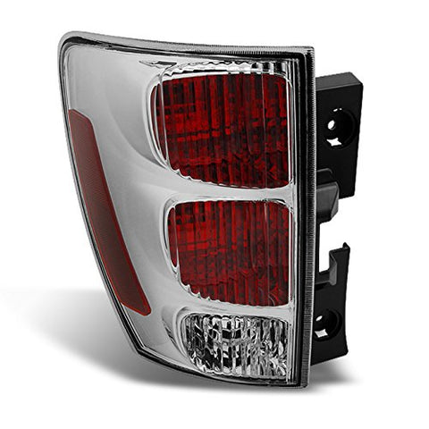 For Chevy Equinox Suv Rear Red Clear Tail Light Tail Lamp Brake Lamp Driver Left Side Replacement