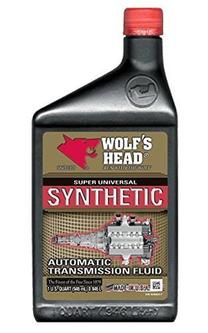 Wolf'S Head 836-92866-56-Case Motor Oil (Syn Atf), 384. Fluid_Ounces,