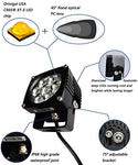 Run-D 35W Cree Led Driving Lights 3 Flood Off Road Work Light - 1 Pair