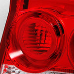 For Dodge Charger 4Dr Sedan Rear Red Clear Tail Light Tail Lamp Brake Lamp Driver Left Side Replacement