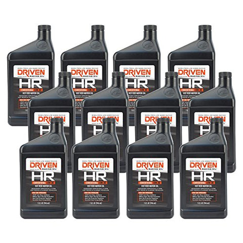 Driven Racing Oil Hr 10W30 Motor Oil 1 Qt Case Of 12 P/N 02007