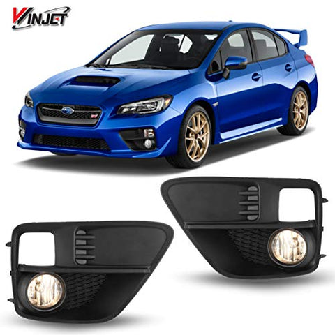Winjet Wj30-0411-09 Oem Series For [2015-2017 Subaru Wrx] Clear Lens Driving Fog Lights + Switch + Wiring Kit