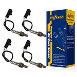 Partssquare 4Pcs Oxygen O2 Sensor 234-4610 Upstream&Amp;Downstream For 1996 1997 1998 Ford Mustang