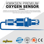 Kwiksen Heated Universal O2 Oxygen Sensor Upstream Or Downstream 234-4609 For 1990-1998 Ford E-150 Escape Crown Victoria Explorer Lincoln Town
