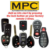 Mpc Complete Factory Remote Activated Remote Start Kit For Jeep Wrangler Jk 2007-2018 - Plug-N-Play - Firmware Preloaded