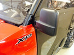 Side View Mirror Set Fits Polaris Ranger 570 2015+ Lock N Ride Cab Frame (Not For Round Roll Bars)