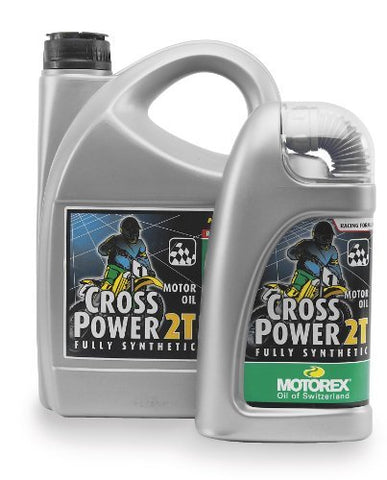 Motorex Cross Power 2T Oil - 4L. 204-400