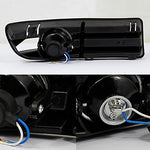 For Vw Jetta Sedan Driving Clear Fog Lights Driver/Passenger Lamps With Switch/Bulbs/Bezel