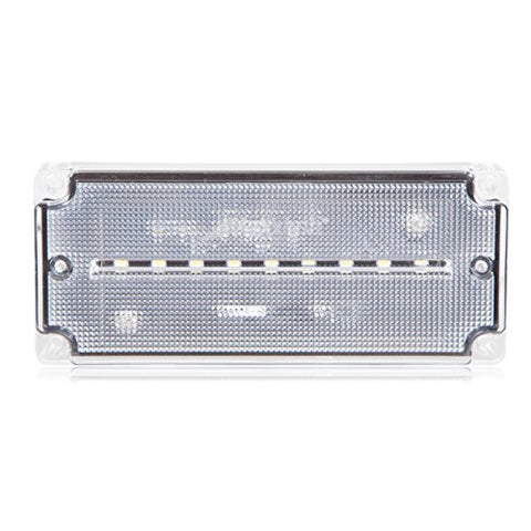 Maxxima Mwl-33 9 Led White 3  X 6  Rectangular Exterior Scene/Load Light 400 Lumens