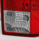 For Cadillac Escalade Red Clear Rear Led Tail Lights Brake Lamps Driver Side Left Replacement Assembly