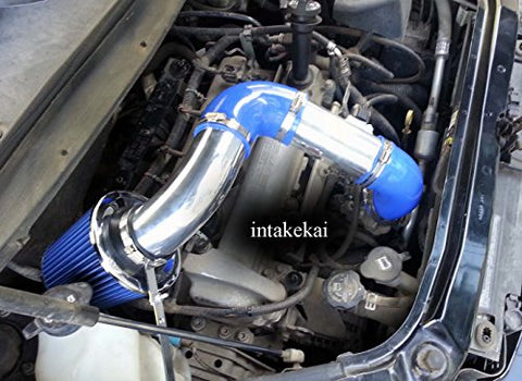 Blue Fit: 06 07 08 09 10 11 Chevrolet Hhr 2.2 2.2L 2.4 2.4L Ls Lt Air Intake Kit Systems 2006 2007 2008 2009 2010 2011