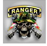 Army Ranger Skull Sticker / Decal