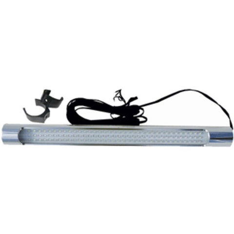 Taco T-Top Tube Light W/Aluminum Housing - White/Blue Leds Marine , Boating Equipment