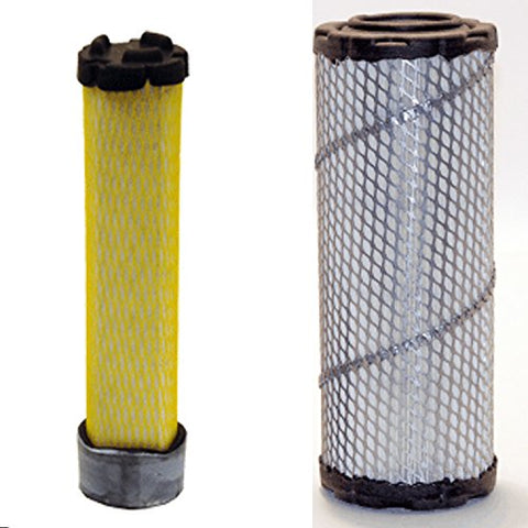 Wix 46438 Outer Air And 42985 Inner Air Filter Bundle, 1 Each
