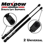 Maxpow C1608055 Extended Length 19.69 Inch Force 120Lbs Per Prop 10Mm Ball Socket Struts Gas Springs Lift Supports
