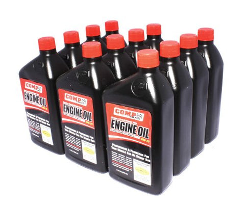 Competition Cams 1595-12 15W-50 Muscle Car And Street Rod Engine Oil - 1 Quart Bottle (Case Of 12)
