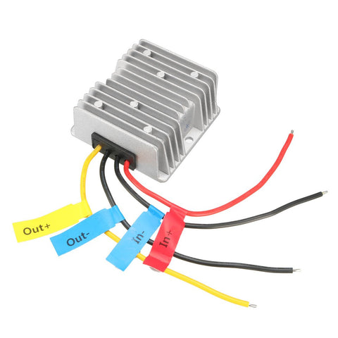 Uxcell Dc 48V Step-Down To Dc 24V 10A 240W Waterproof Car Power Supply Module Voltage Converter Regulator Transformer
