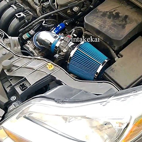Blue Fit 2012-2018 Ford Focus 2.0 2.0L S Se Titanium Non-Turbo Engine Air Intake Kit