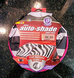 Kraco 805112 Auto Expressions 805113 Universal Fit Magic Shade- Zebra