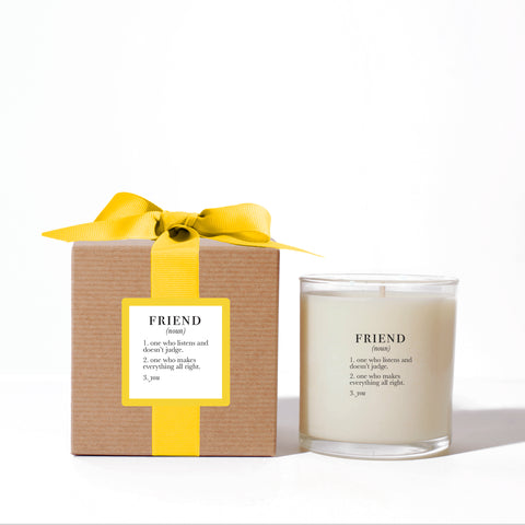 """Friend"" Candle"