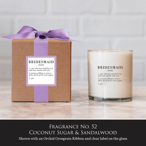 """Bridesmaid"" Candle"