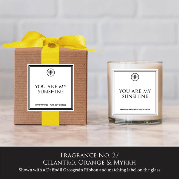 """You Are My Sunshine"" Candle"