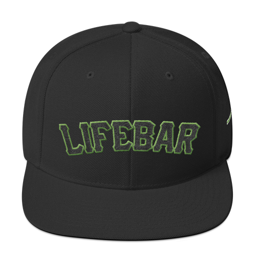 San Francisco Lifebar - Black Snapback