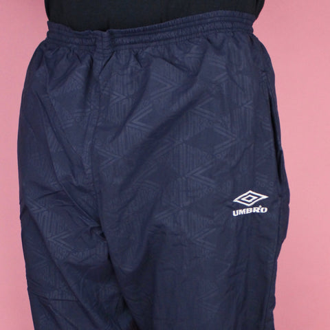 90s Umbro Pattern Jogger Pants