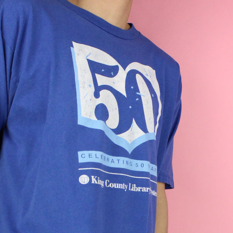 90s Celebrating 50 Years Library Shirt