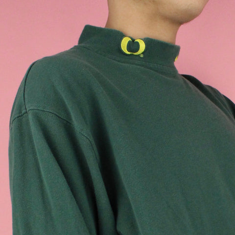 00s Nike University of Oregon Turtleneck Sweater