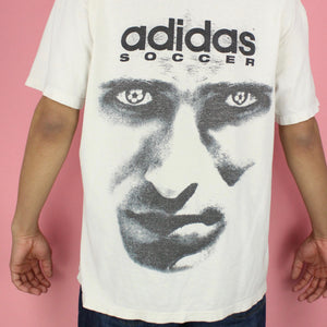 1990s Adidas Soccer Graphic T-shirt