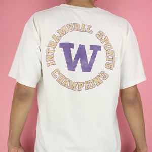 Y2K UW Seattle International Champions T-shirt