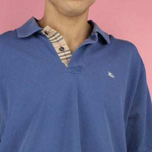 Vintage 80s Burberry Polo Shirt