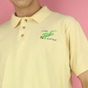 Vintage Embroidered Lizard Polo