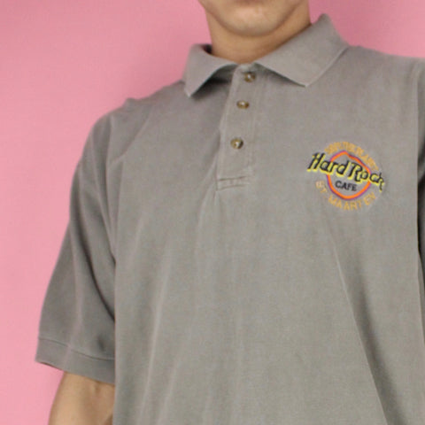 1990s Hard Rock Cafe St.Maarten Polo Shirt