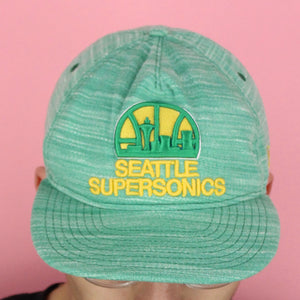 Vintage 90s Seattle SuperSonics Hat