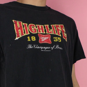 2004 Miller Highlife Distressed Shirt